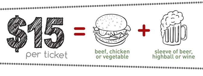 Burger & Beverage Pub Night [Ad]
