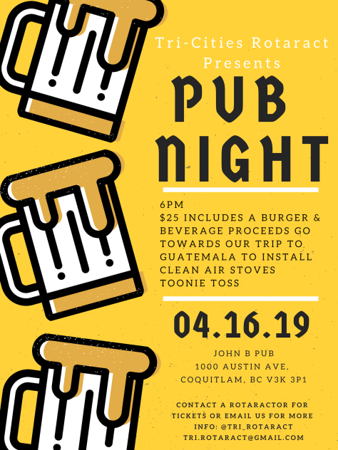 Pub Night 2019